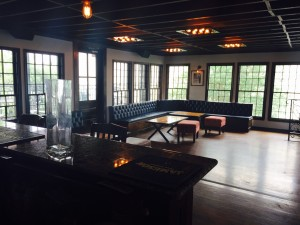 Lounge Seating in the Private Party Space at Capone's