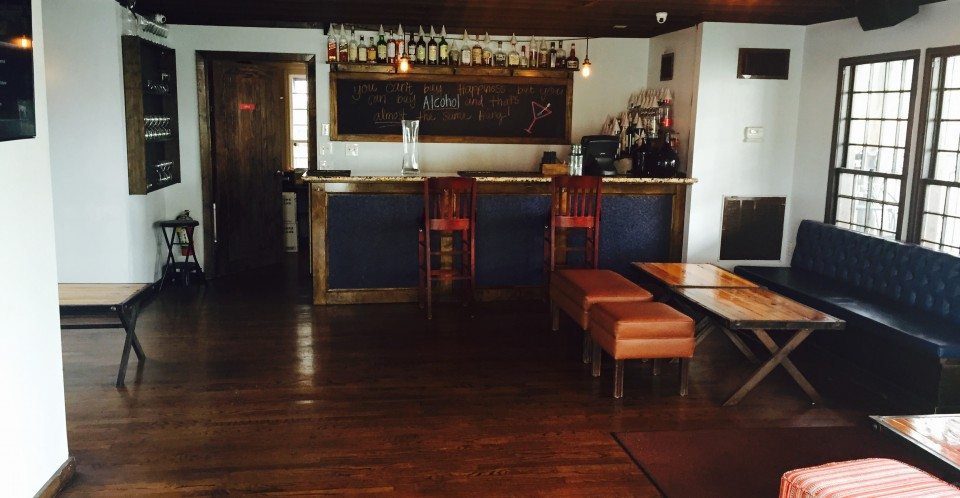 Full Service Bar in the Private Party Space at Capone's