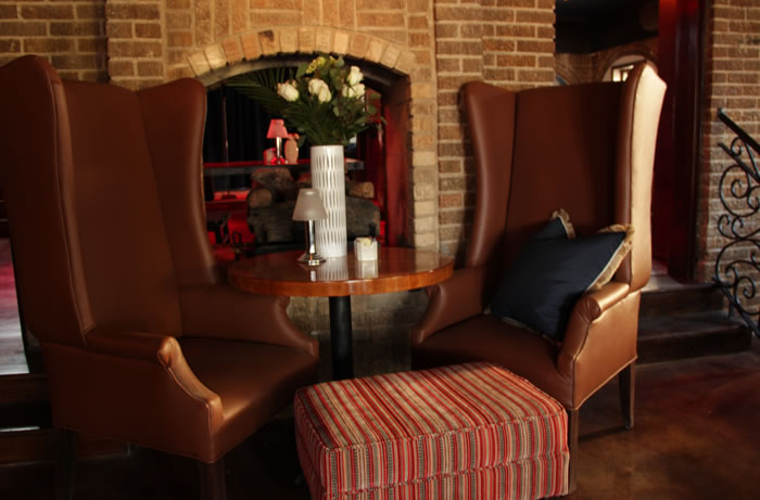 Relax in Capone's Oven & Bar