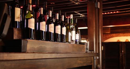 Capone's famous Wine List
